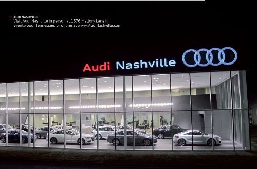 Audi Nashville Audi Club Of North America